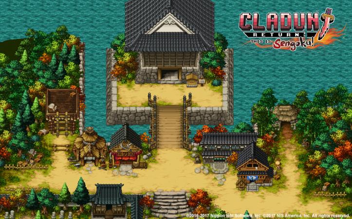 Cladun Returns: This Is Sengoku! - key art