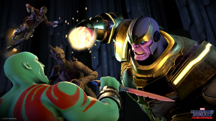 Guardians of the Galaxy - Thanos fight