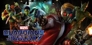 marvel's Guardians of the Galaxy: The Telltale Series - Tangled Up In Blue logo