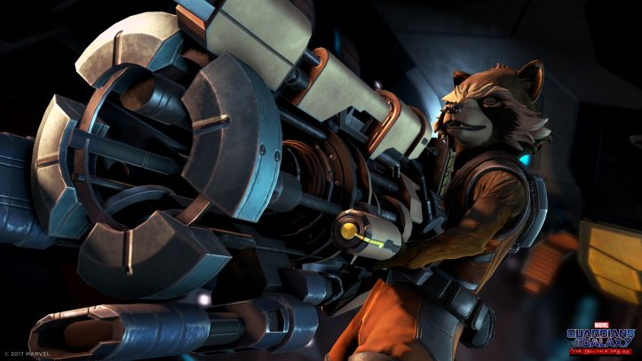 Marvel's Guardians of the Galaxy: The Telltale Series - Rocket