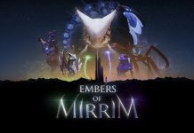 Embers of Mirrim - Splash logo