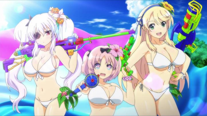 Senran Kagura Peach Beach Splash - girls