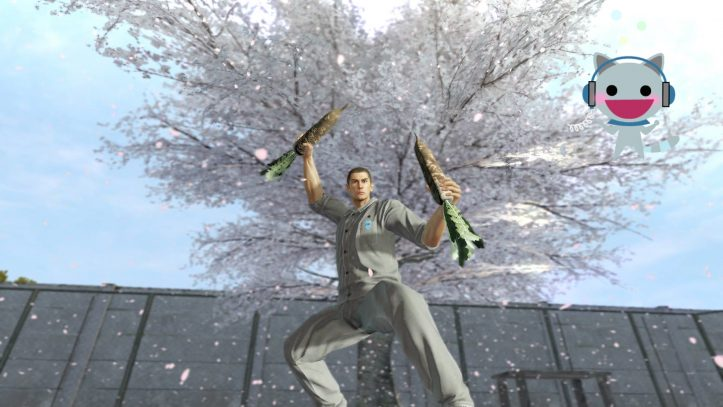 Yakuza Kiwami - Daikon attack