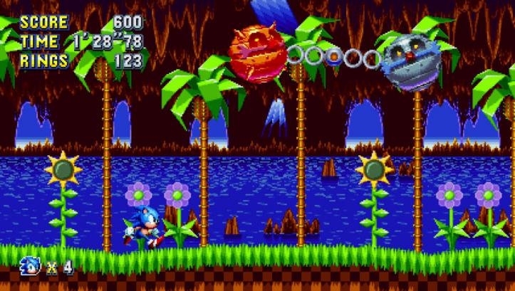 Sonic Mania - Boss fight