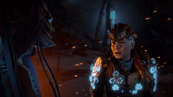 Horizon Zero Dawn: The Frozen Wilds - Aloy in Shield Weaver armor