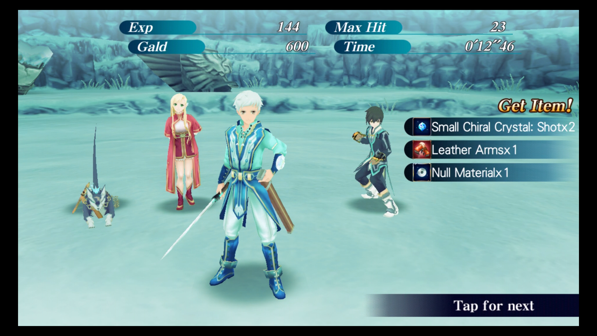 Tales of the Rays - character sprites