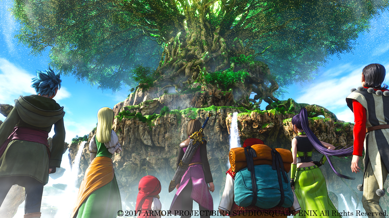 Dragon Quest XI: Echoes of an Elusive Age - The World Tree
