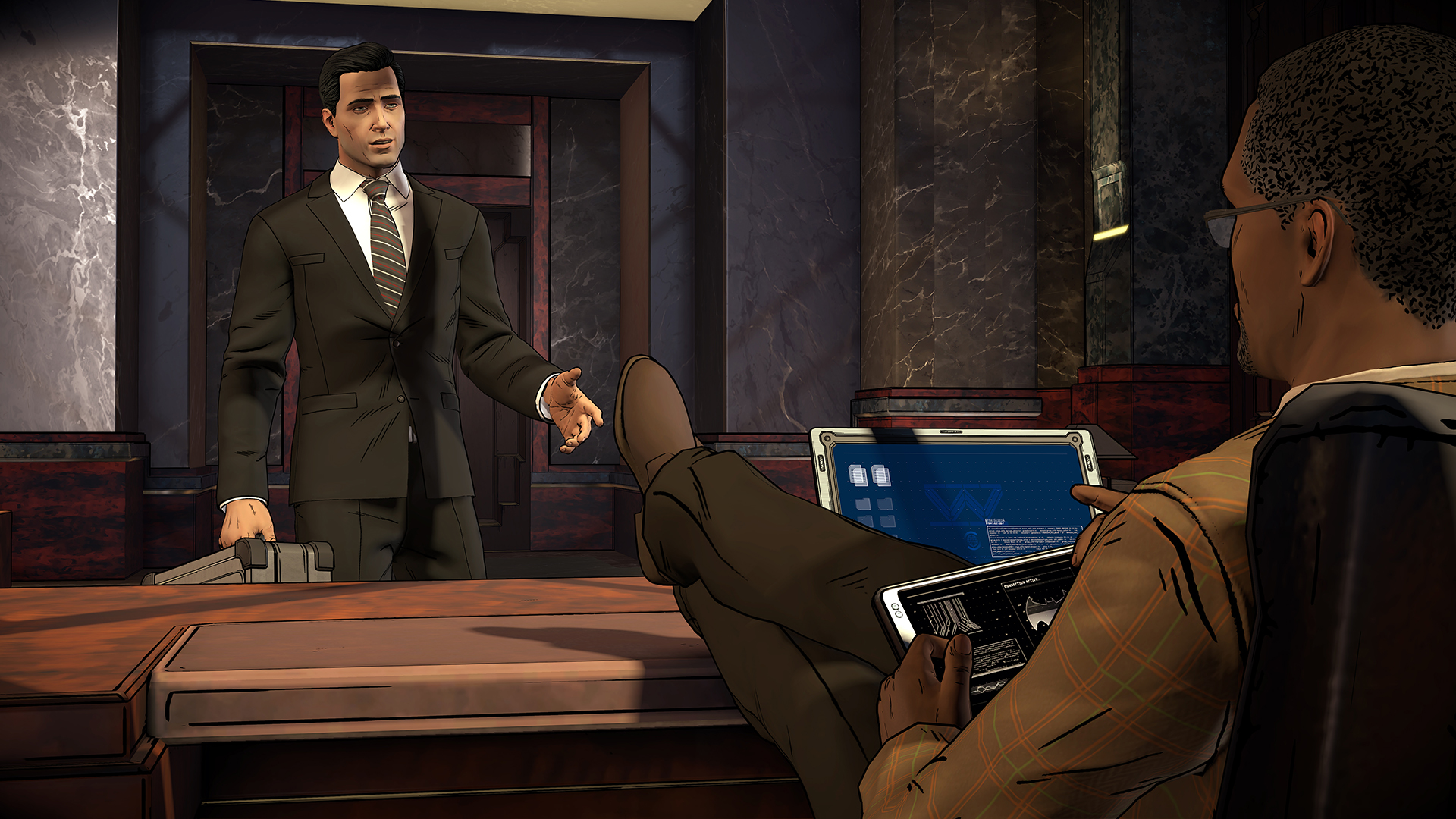 Batman: The Enemy Within - Lucius Fox