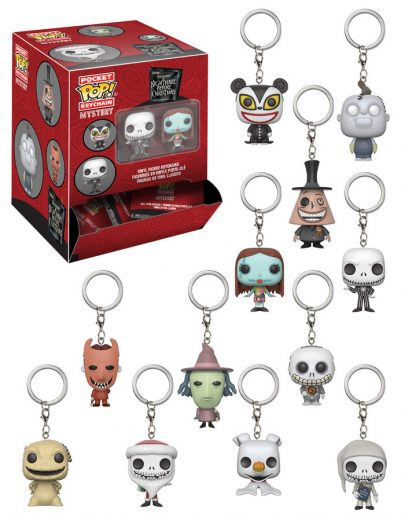 Pocket Pop Keychain Blindbag Nightmare Before Christmas