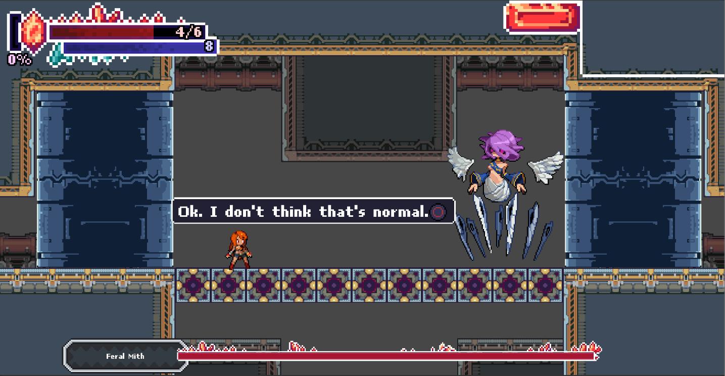 Rubi: The Wayward Mira - Feral Mith boss fight