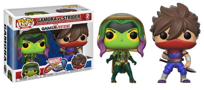 Funko Marvel v Capcom Infinite Gamora vs Strider
