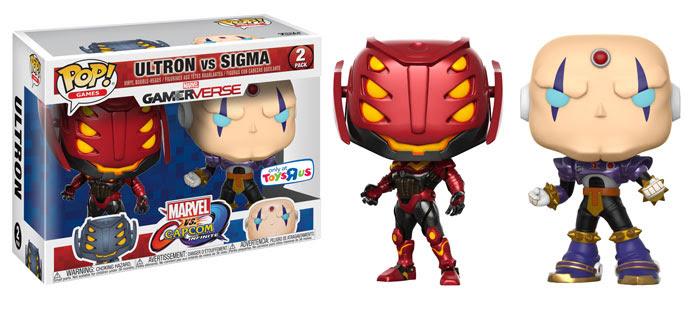 Funko Marvel v Capcom Infinite Ultron vs Sigma