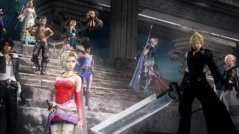 Dissida Final Fantasy NT - crew