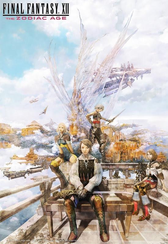 Final Fantasy XII The Zodiac Age - landmark poster