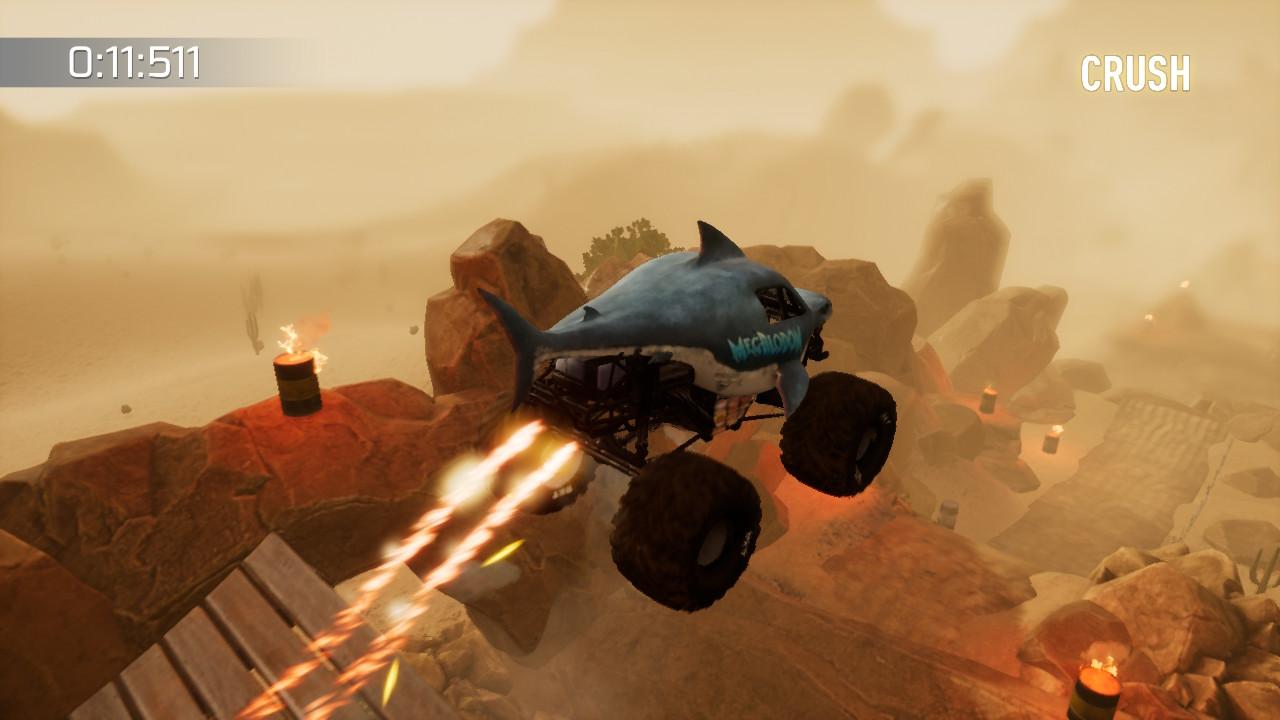 Monster Jam: Crush It! - Flying Megalodon
