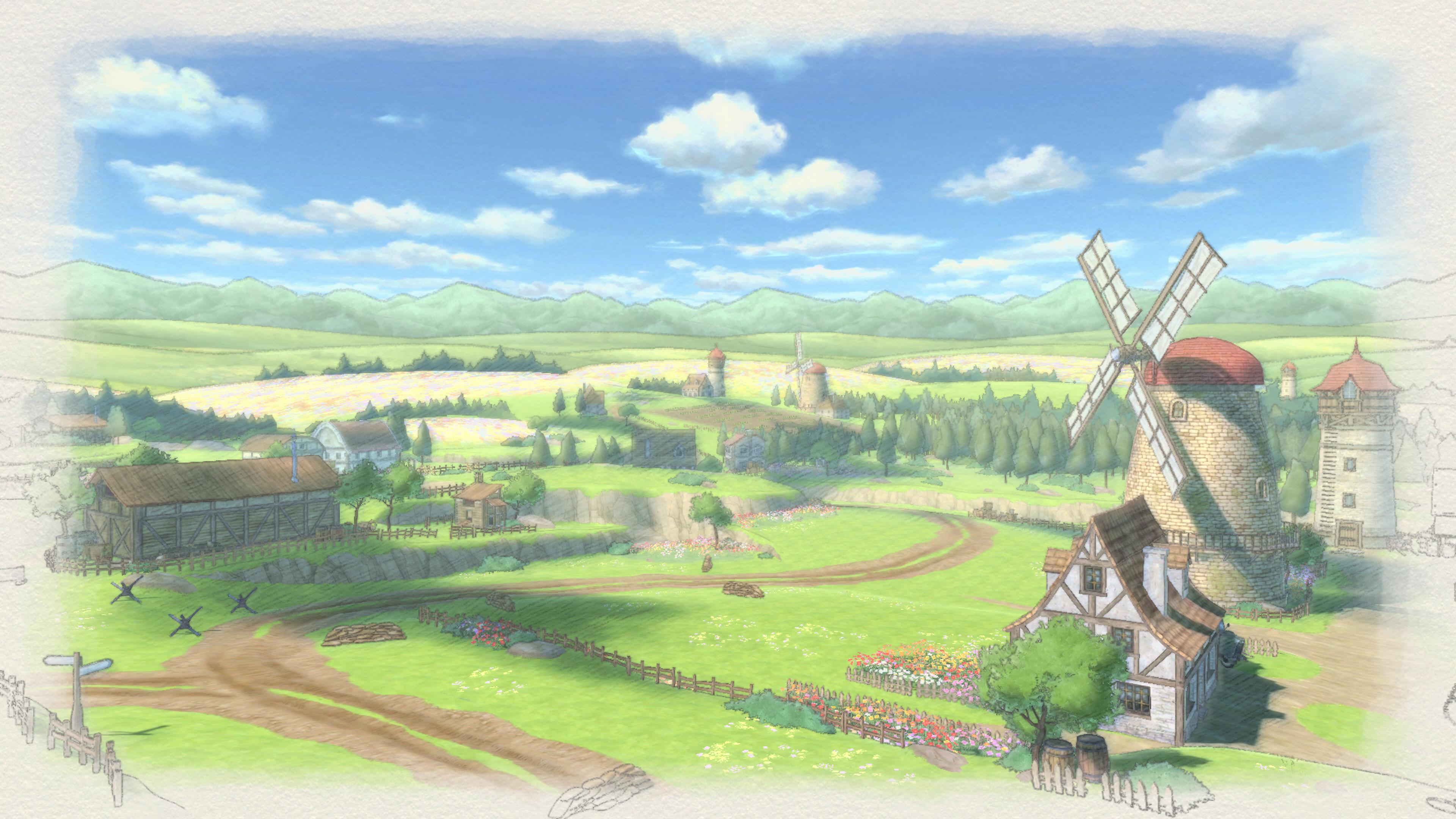 Valkyria Chronicles 4 - scenery