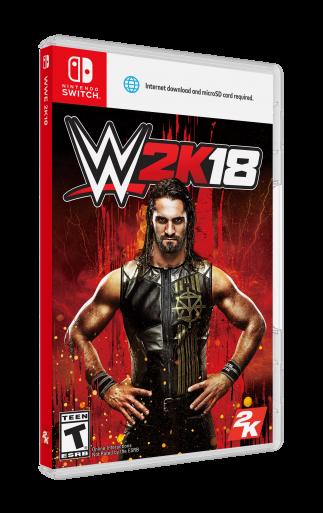 2KSMKT WWE2K18 STD NSW FOB 3D ESRB