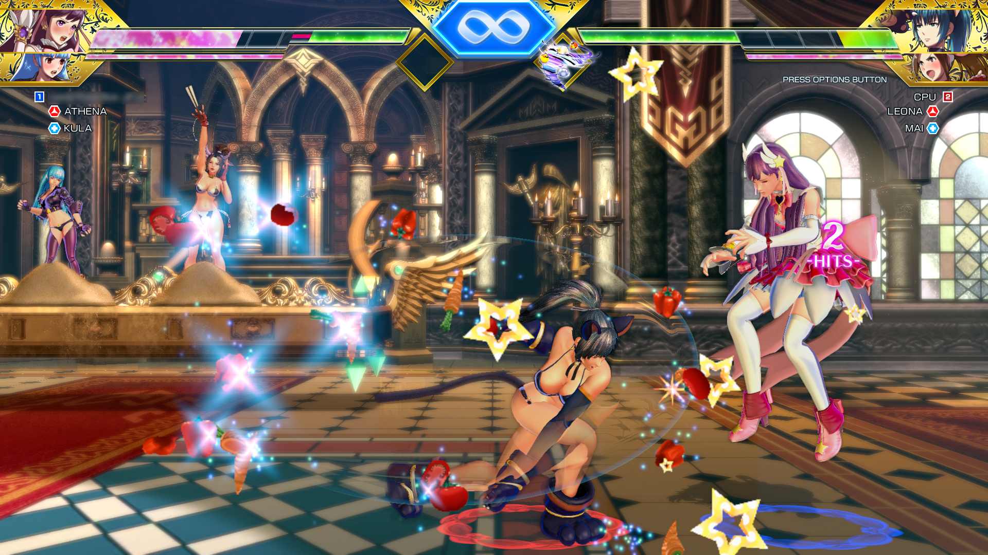 SNK Heroines Tag Team Frenzy - Mai attack
