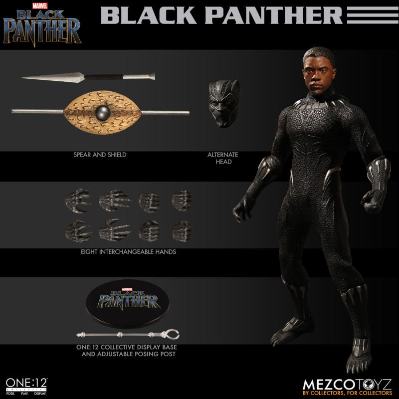 Mezco One12 Black Panther 2