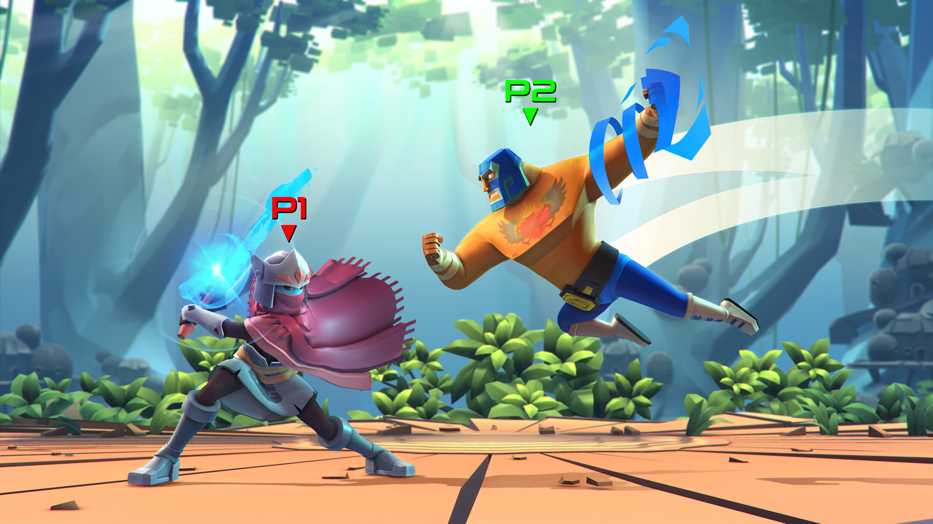 Brawlout - Guacamelee vs Hyper Light Drifter