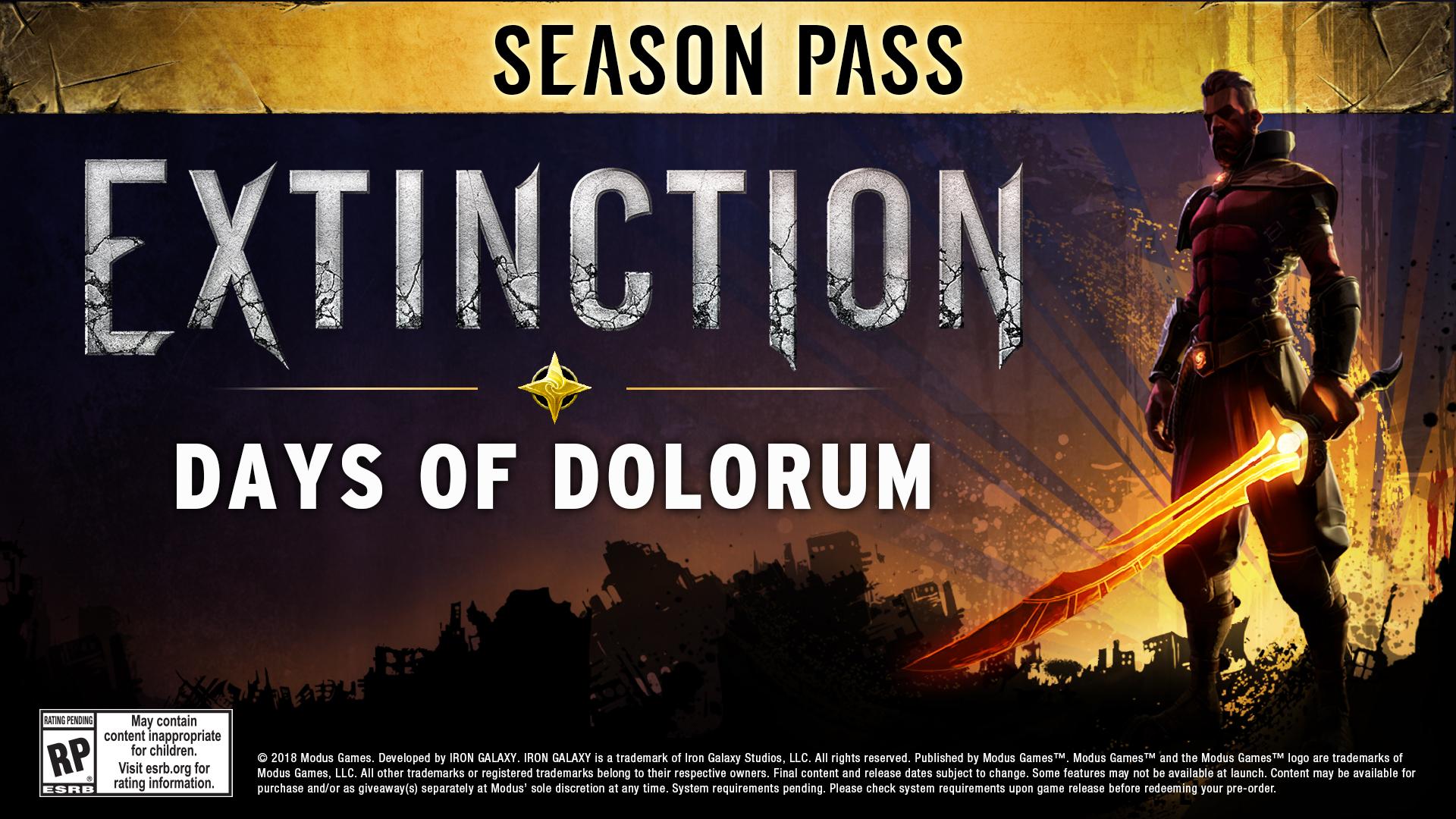 Extinction - Season Pass