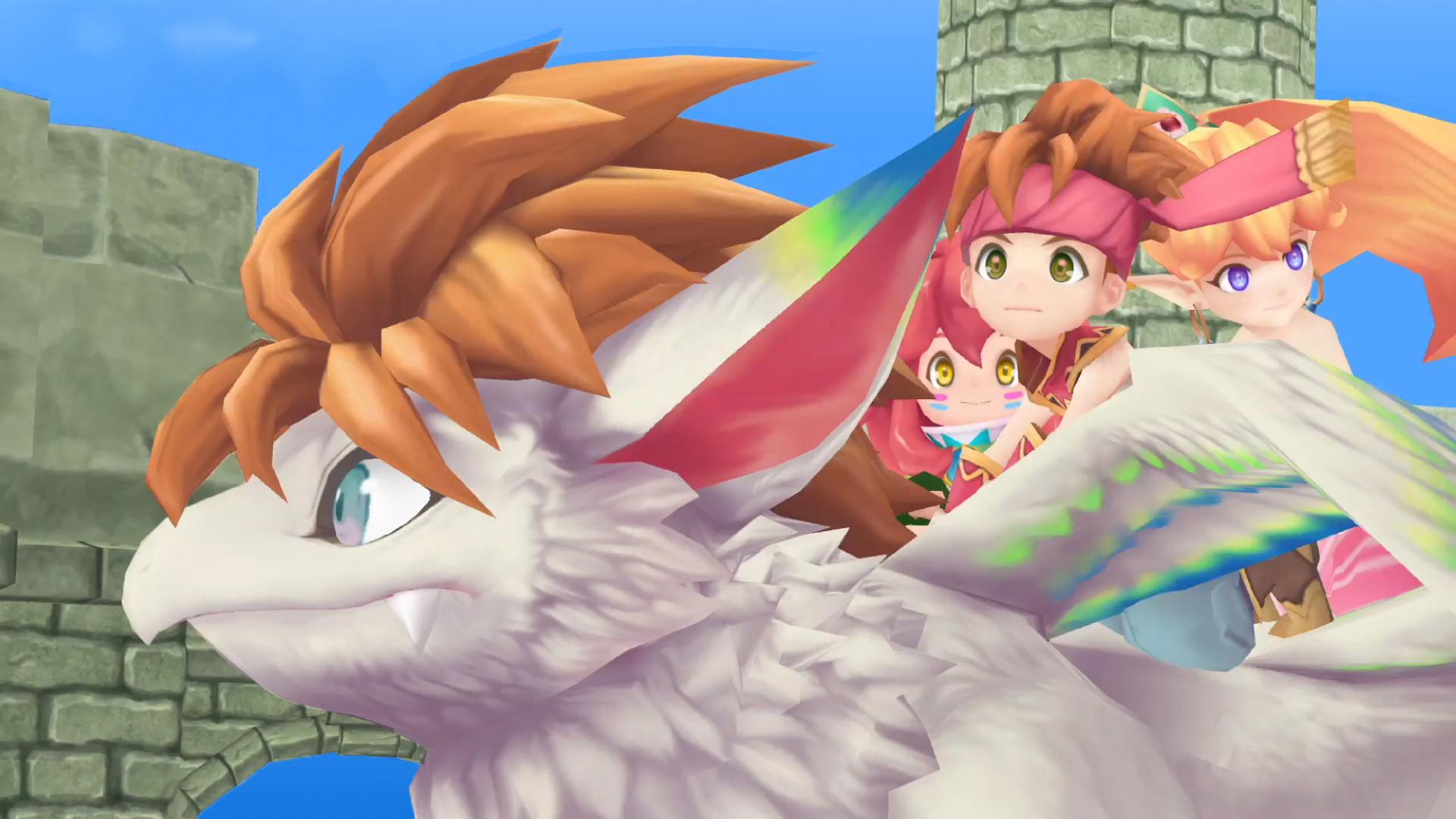 Secret of Mana - cutscene