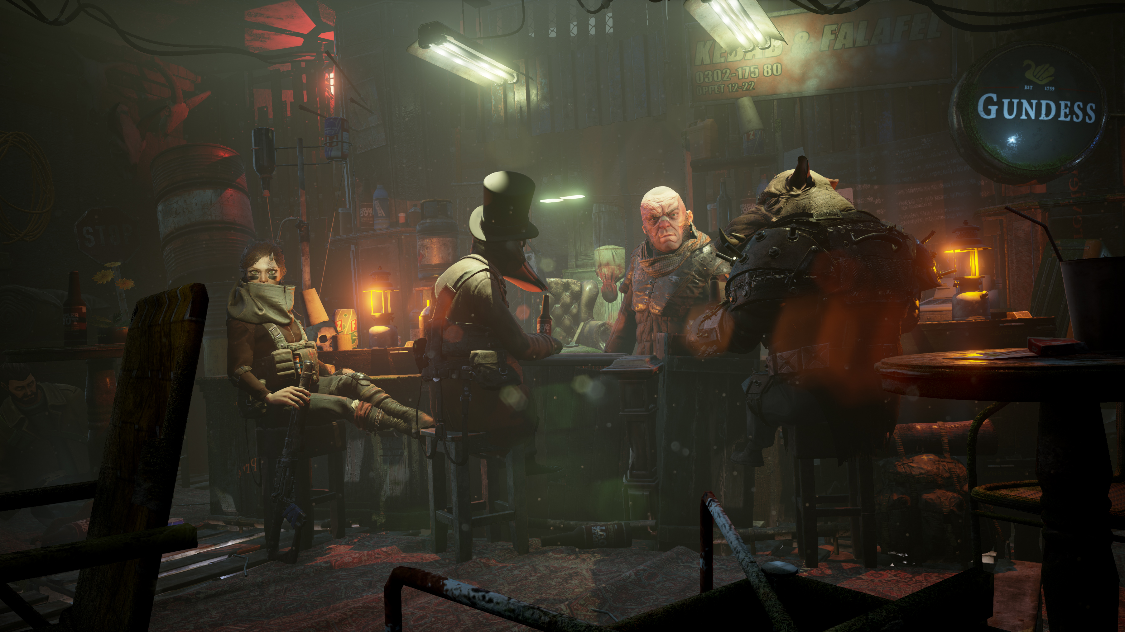 Mutant Year Zero: Road to Eden - the crew