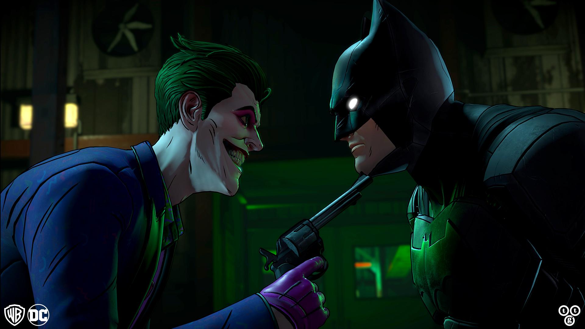 Batman: The Enemy Within - gunpoint