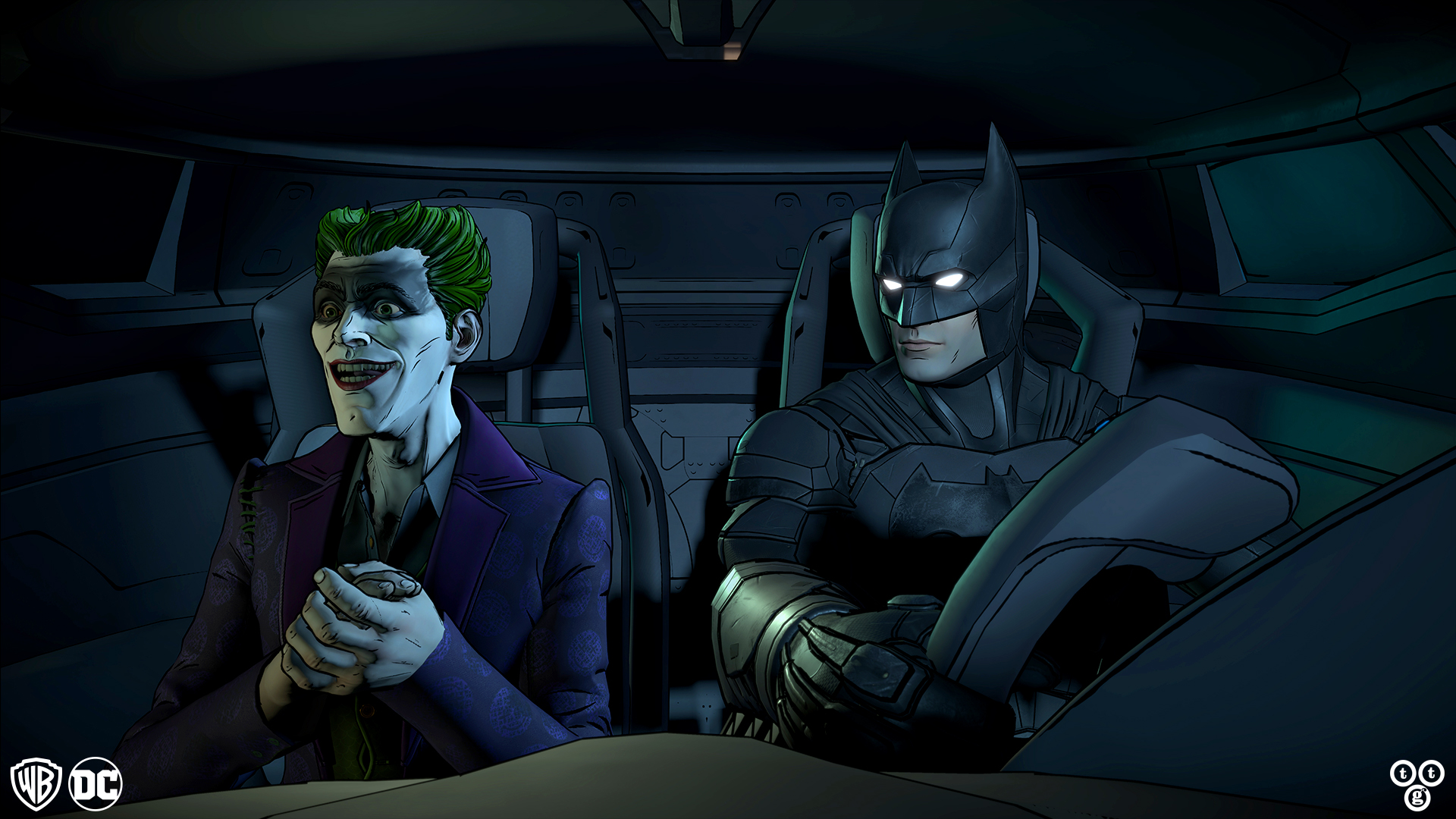 Batman: The Enemy Within - buddy ride