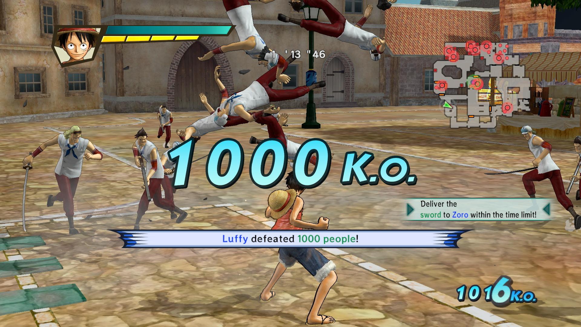 One Piece Pirate Warriors 3 - 1000 KOs