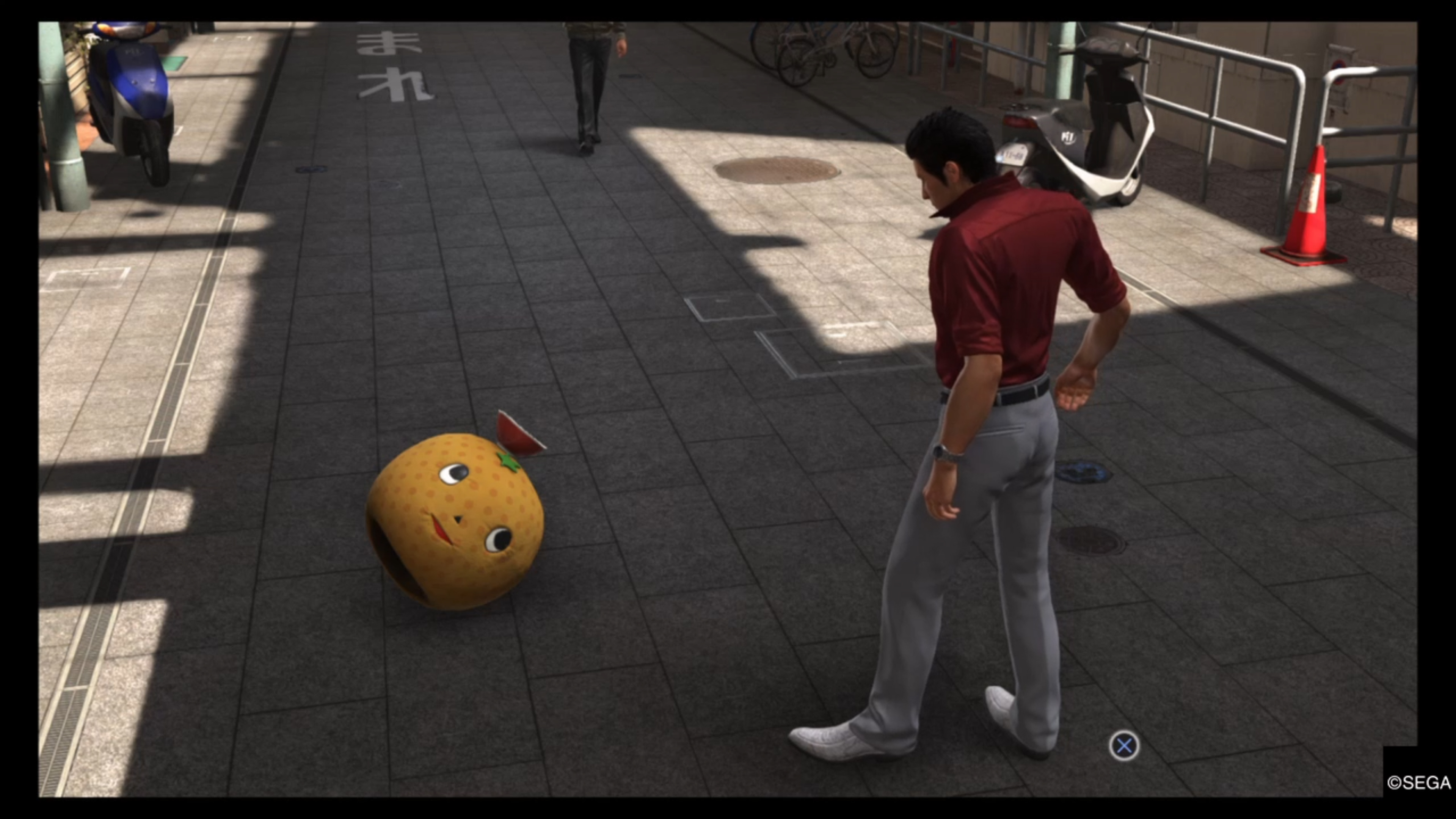 Yakuza 6: The Song of Life - Ono Michio's head