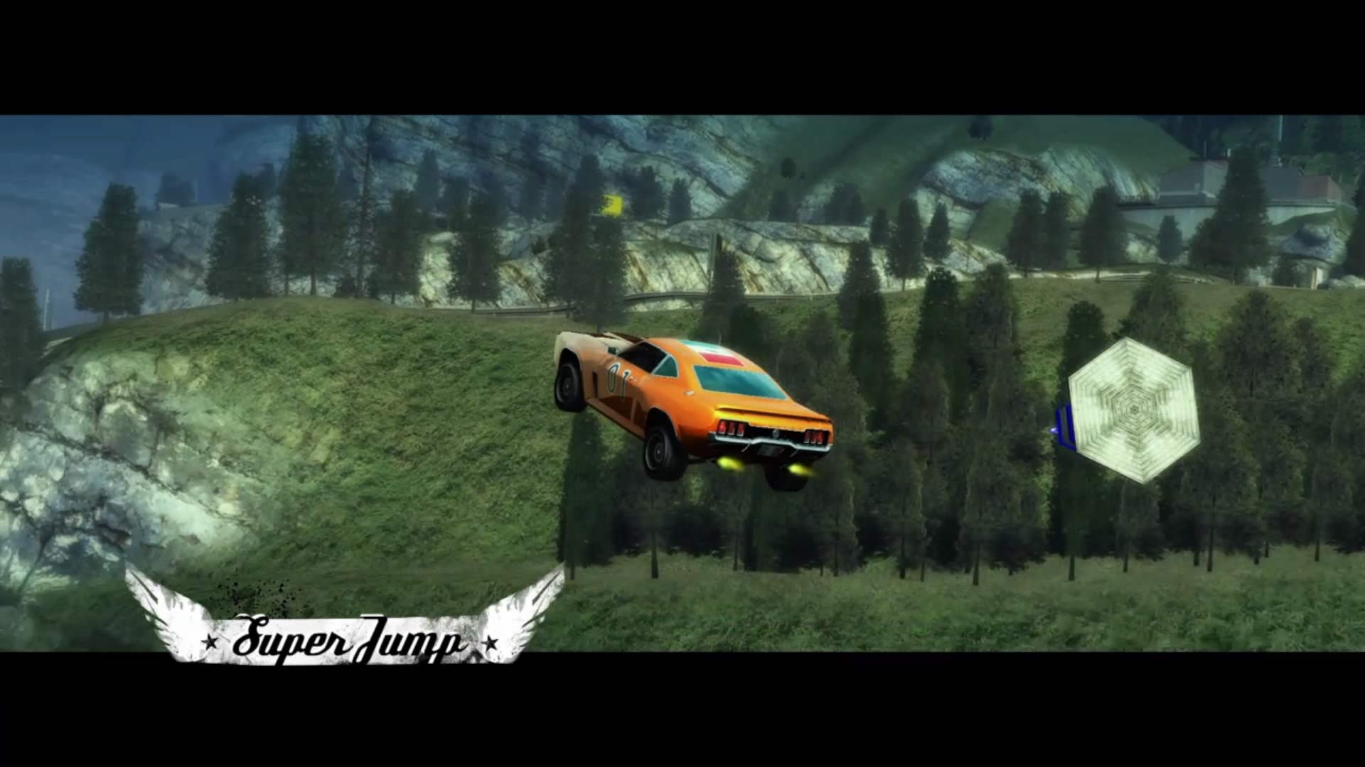 Burnout Paradise Remastered - General Lee Super Jump