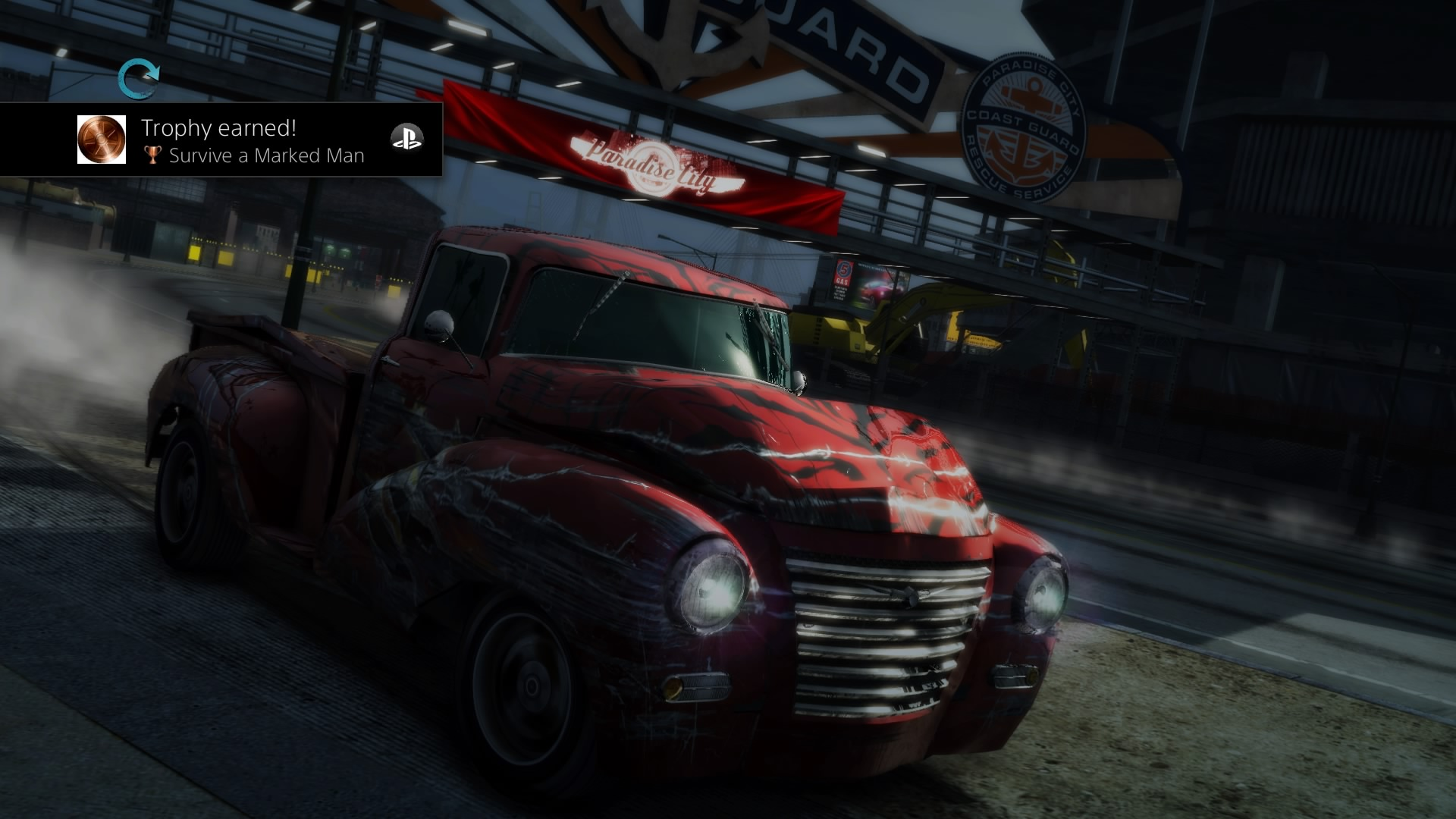 Burnout Paradise Remastered - smashed