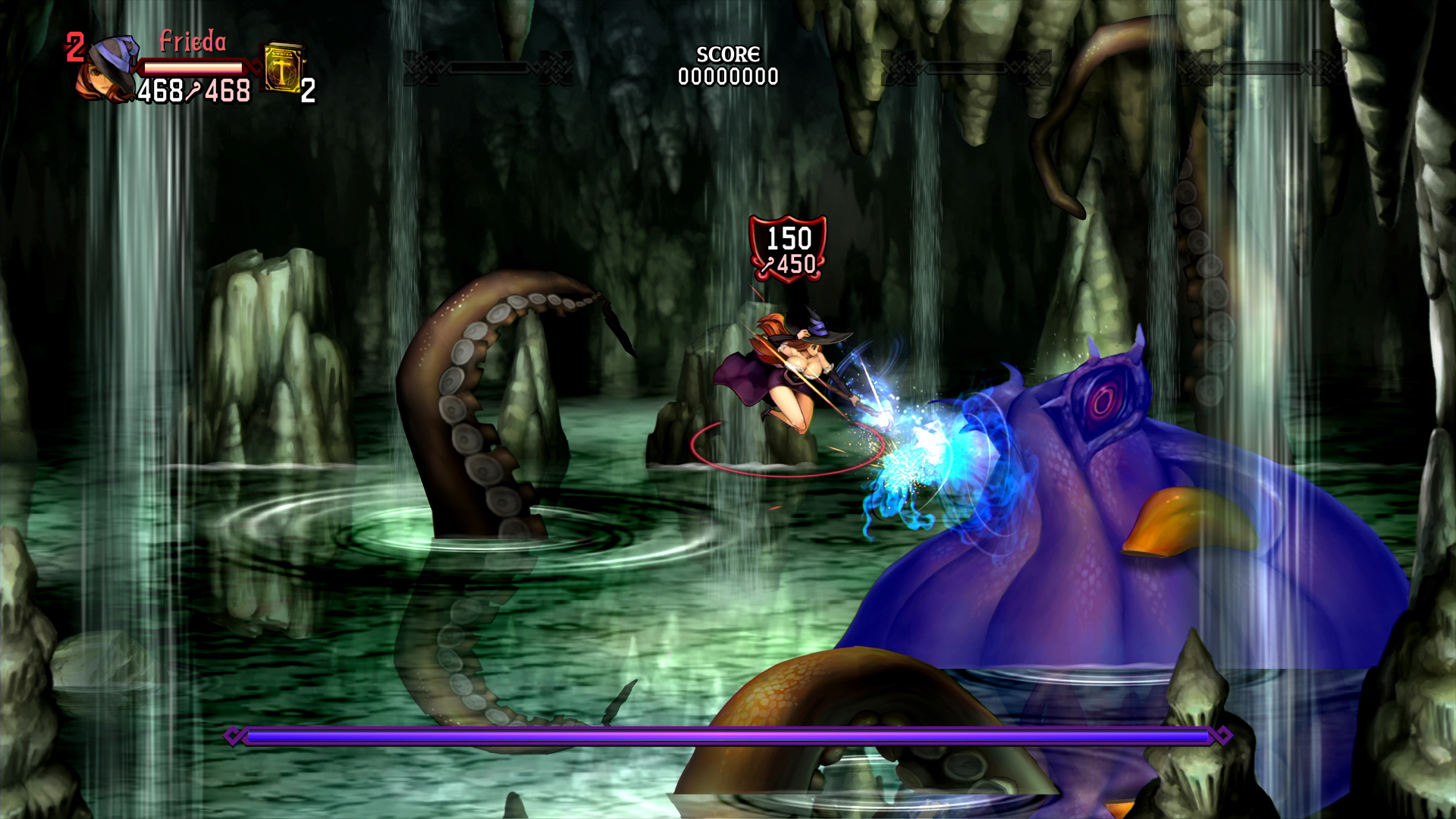 Dragon's Crown Pro - Giant Octopus