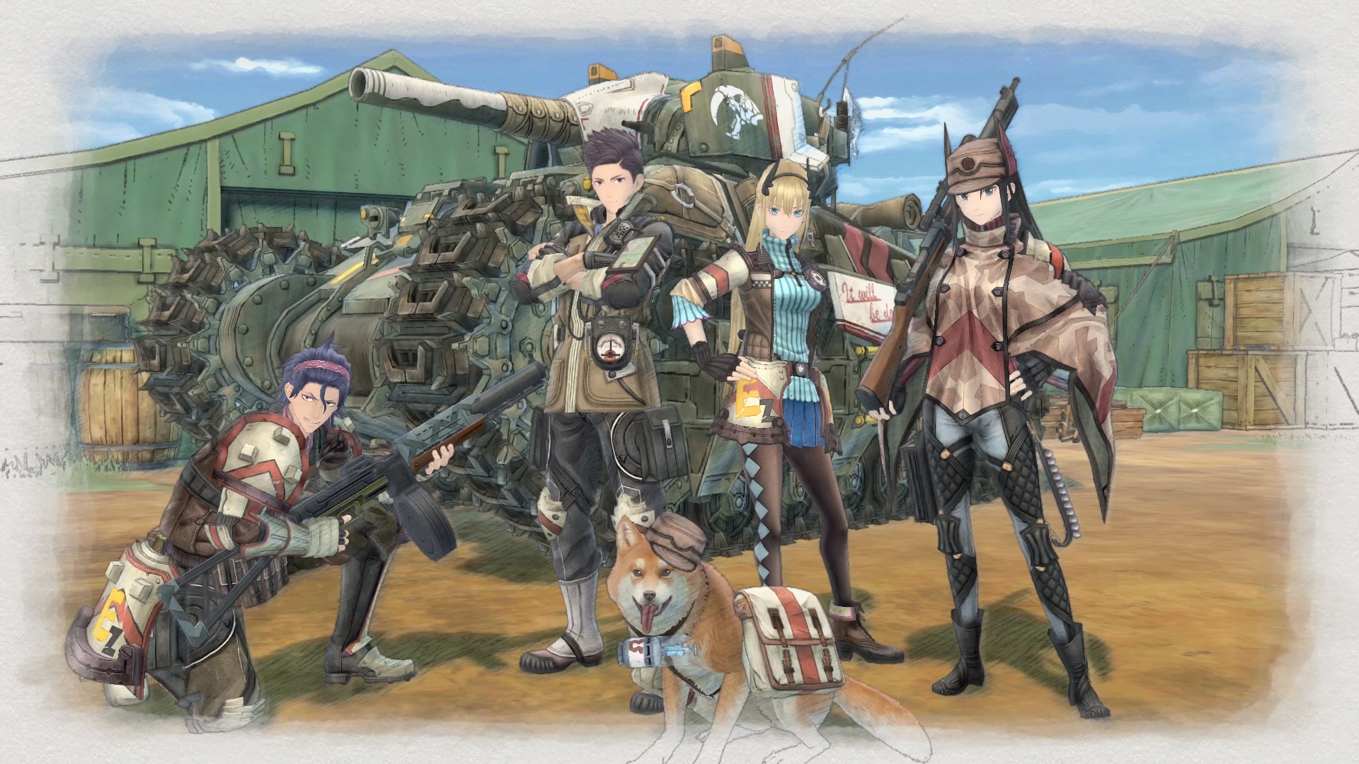 Valkyria Chronicles 4 - Squad E