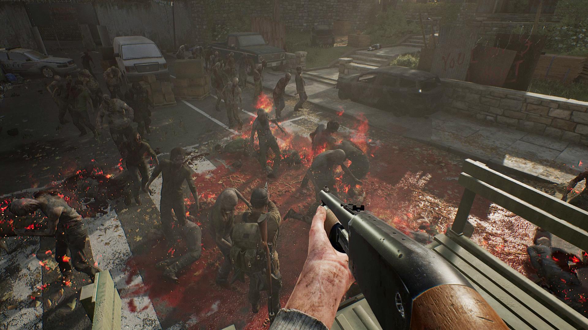 OVERKILL's The Walking Dead - bloodbath