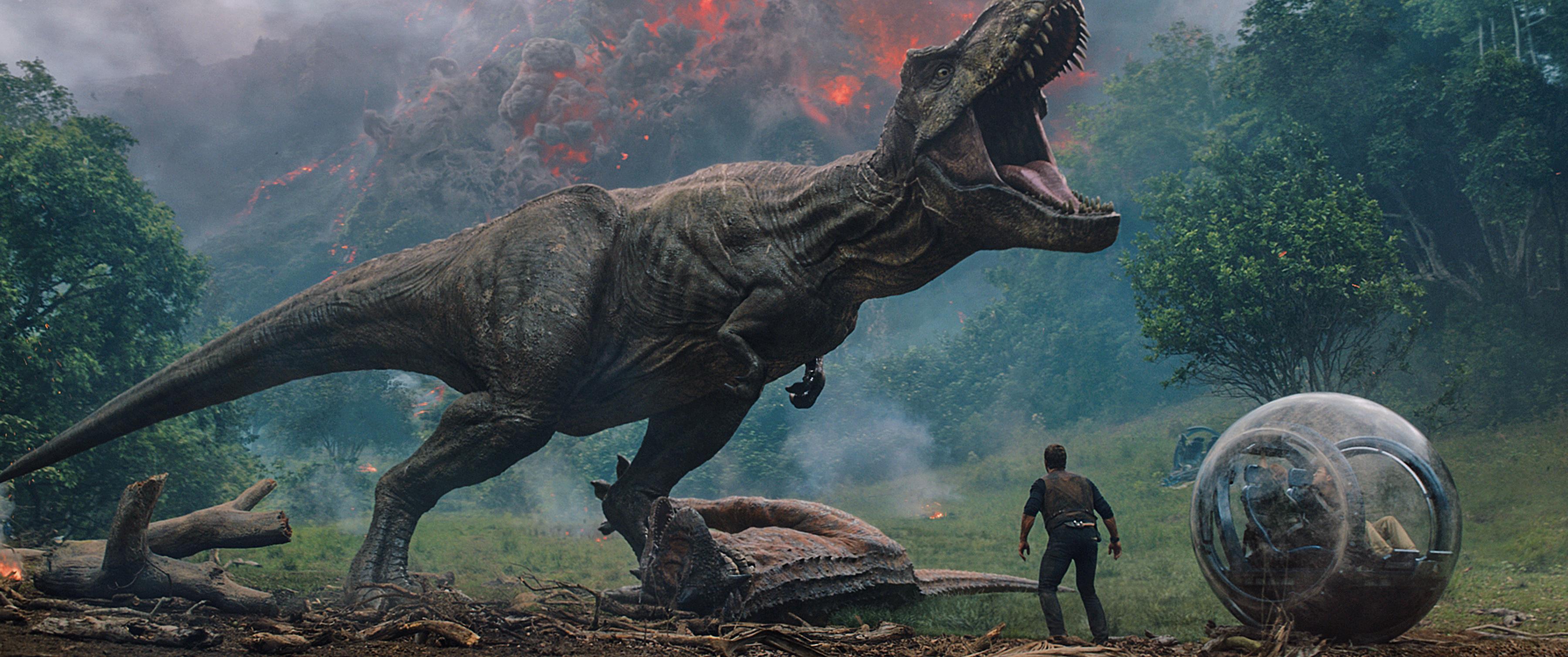 Jurassic World: Fallen Kingdom - T-Rex save
