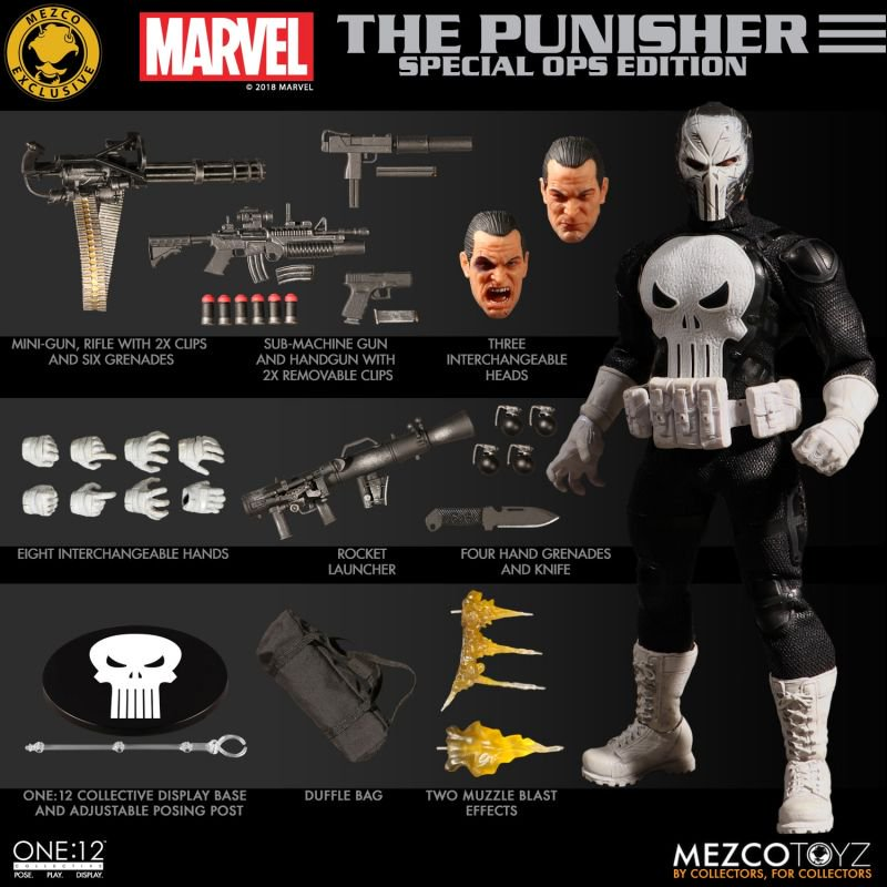Mezco Punisher Special Ops 9