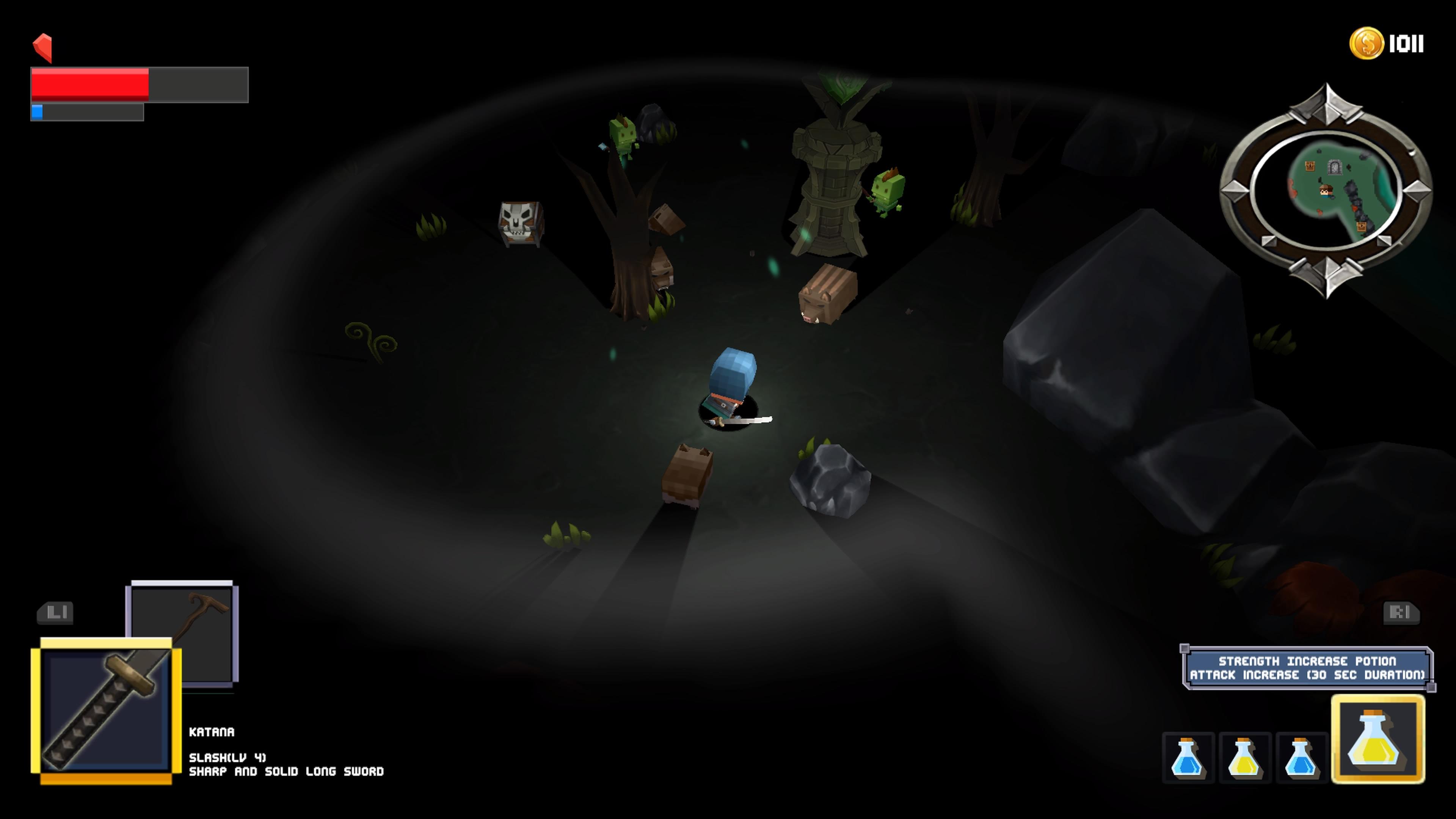 Survive! Mr. Cube - wild boars