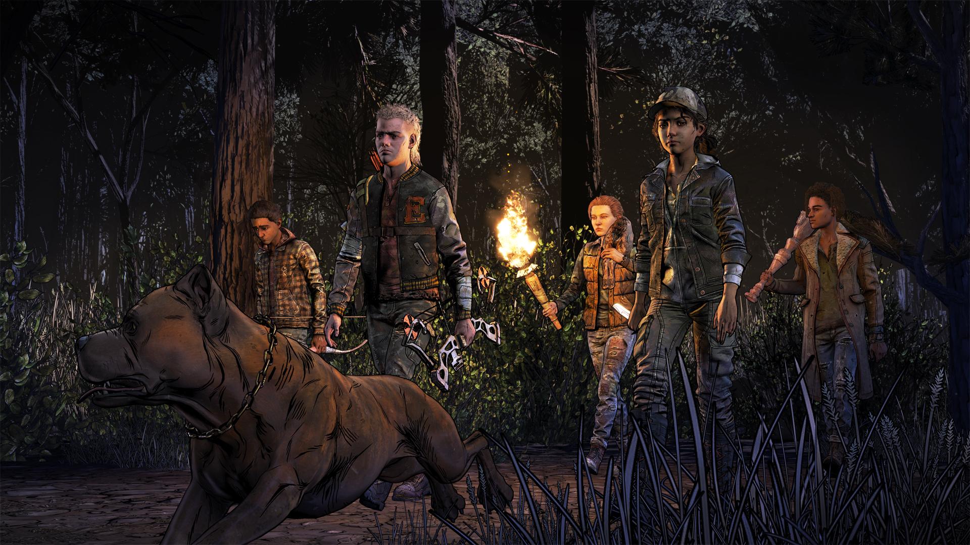 The Walking Dead: The Final Season - search party