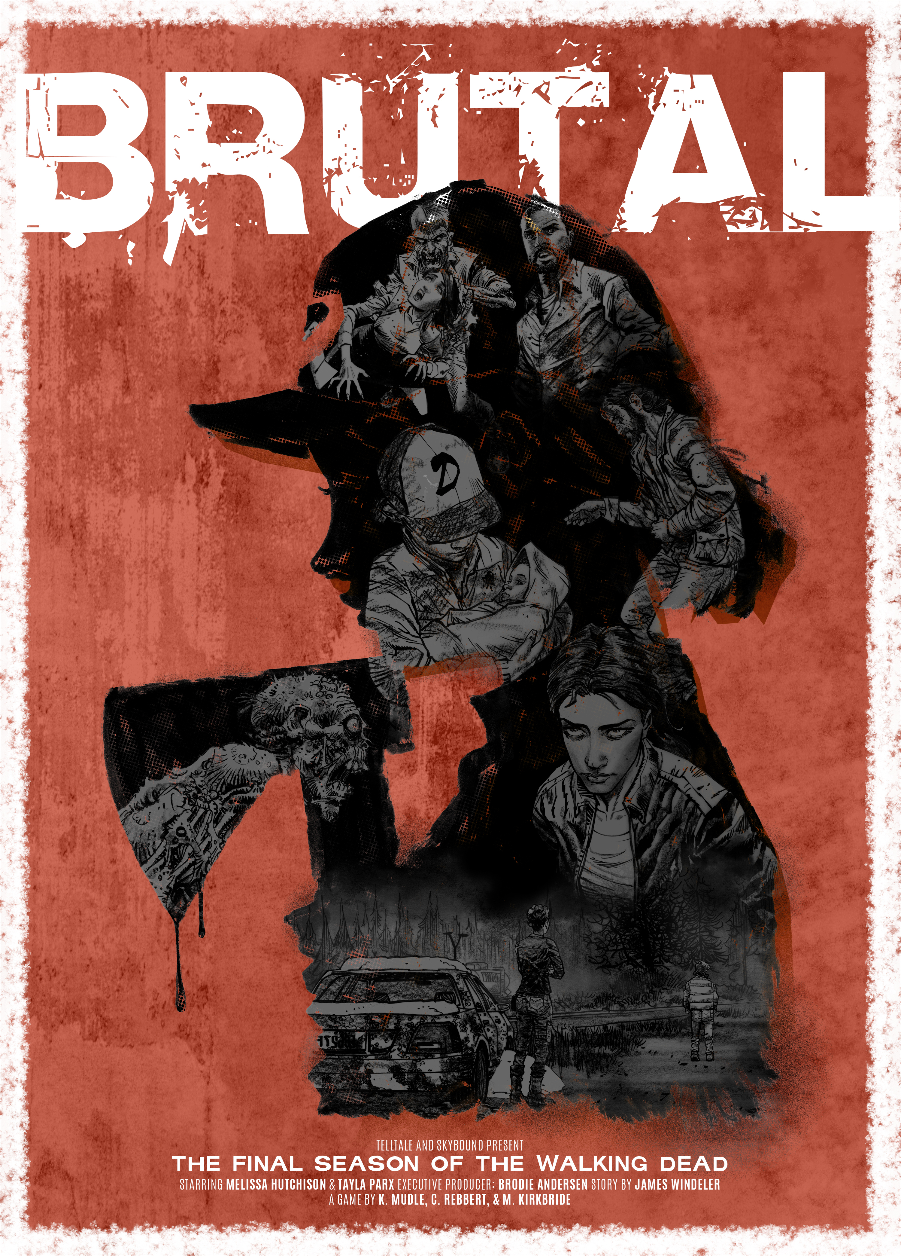 The Walking Dead - choice poster