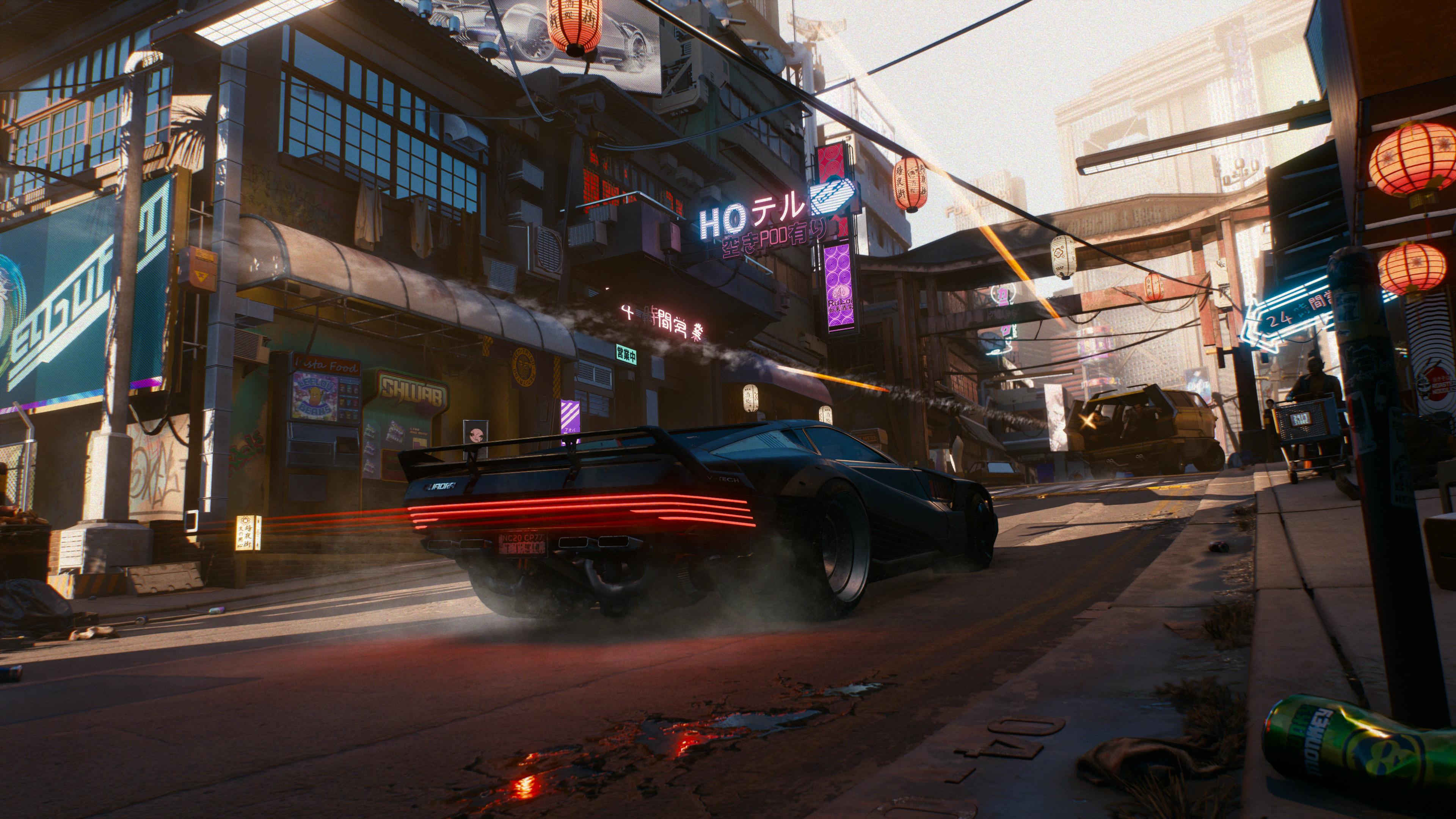Cyberpunk 2077 - Blade Runner vehicles?