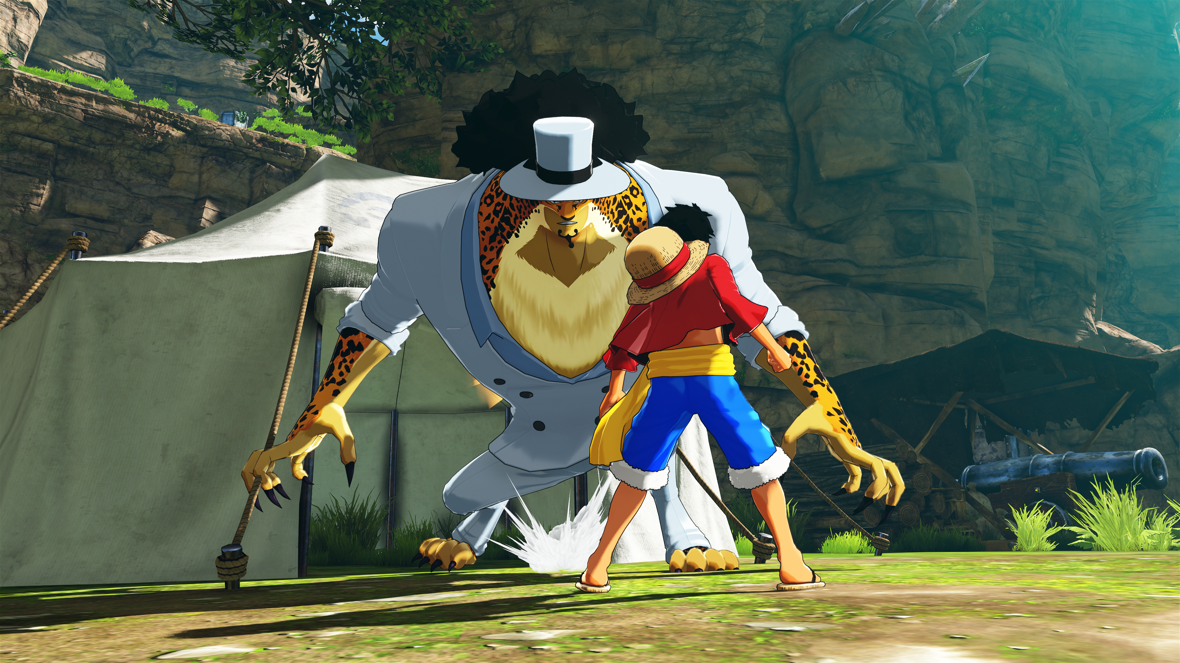 One Piece World Seeker - Luffy vs Lucci