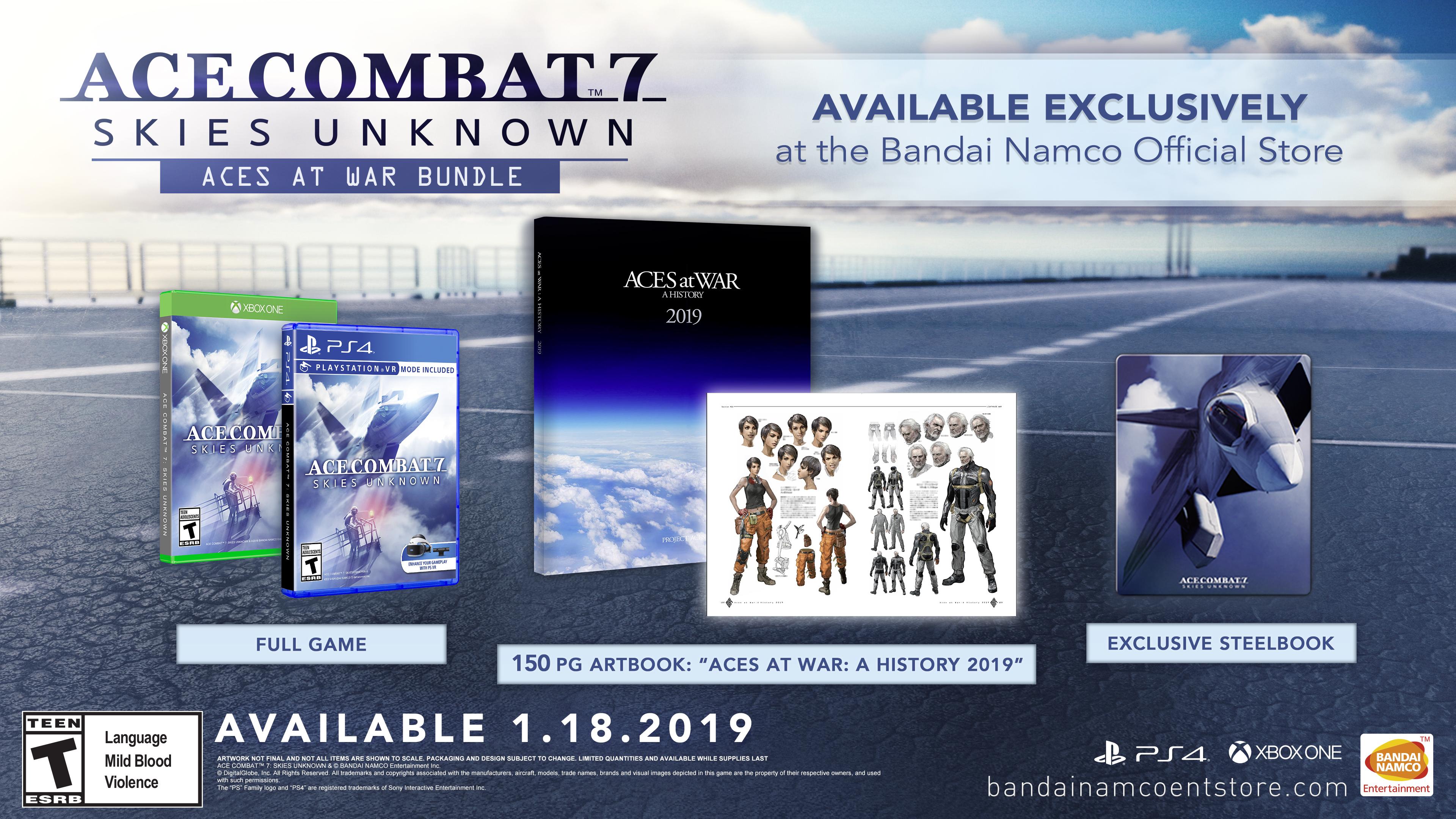 Ace Combat 7: Skies unknown - Aces at War Bundle