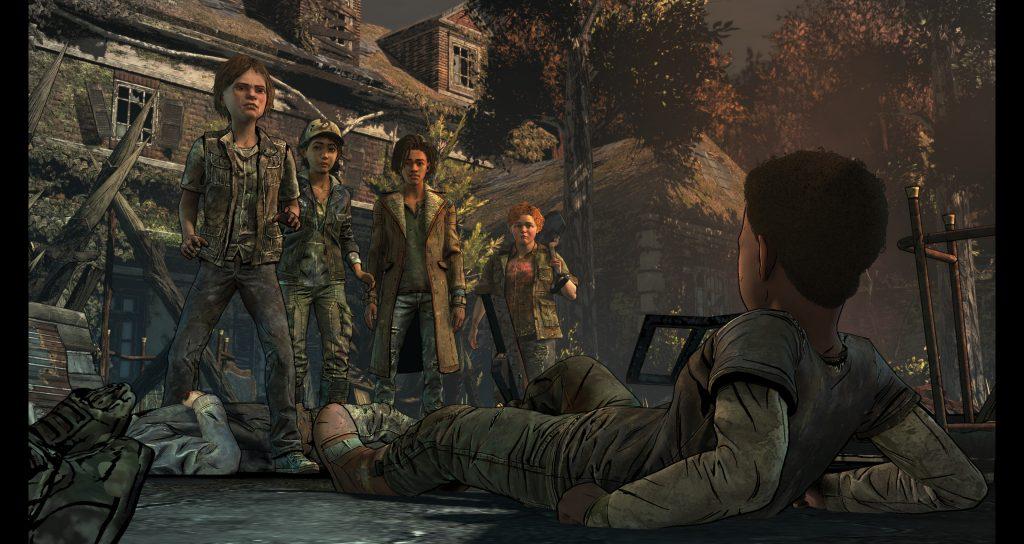 The Walking Dead: The Final Season - back up