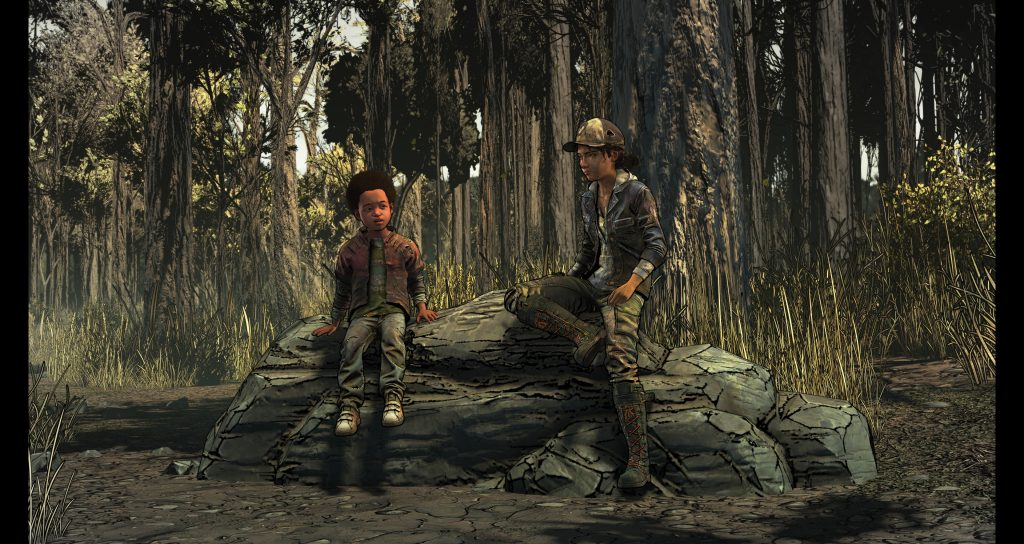 The Walking Dead: The Final Season - Quiet moment