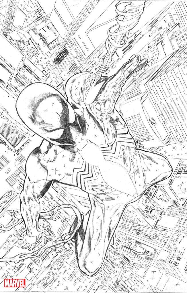 Symbiote Spider Man interior 1