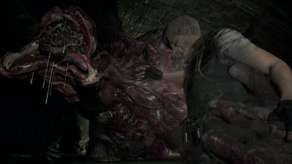 Resident Evil 2 - sewer