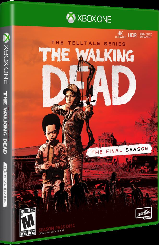 The Walking Dead Final Season XB1 3D