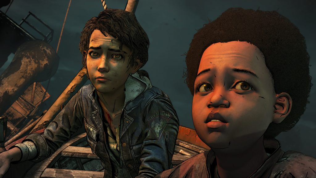 The Walking Dead: The Final Season - the boat
